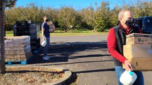 Thousands of pounds of fresh food delivered to families in Northwest Oregon